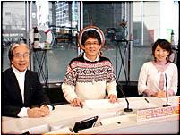 ▲テレビ神奈川(TVK)「ハマランチョ ○○アニマル」での収録風景1