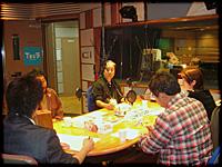 ▲TBSラジオ「全国こども電話相談室」収録風景その2です。