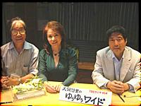 ▲TBSラジオ「大沢悠里のゆうゆうワイド」中央の女性は五月みどりさんです*^^*。