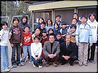 ▲後日、二俣川小学校のみなさんからメッセージボードを頂きました。どうもありがとう!